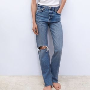 New ZARA Real Straight Jeans